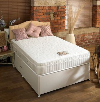 SLEEPTIMES Backcare 3000 Memory Divan Bed from £499