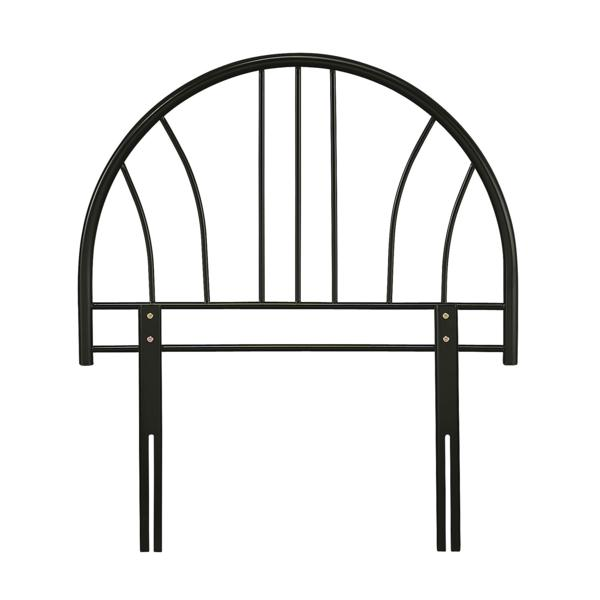 SERENE Annabella Metal Single Headboard in Black