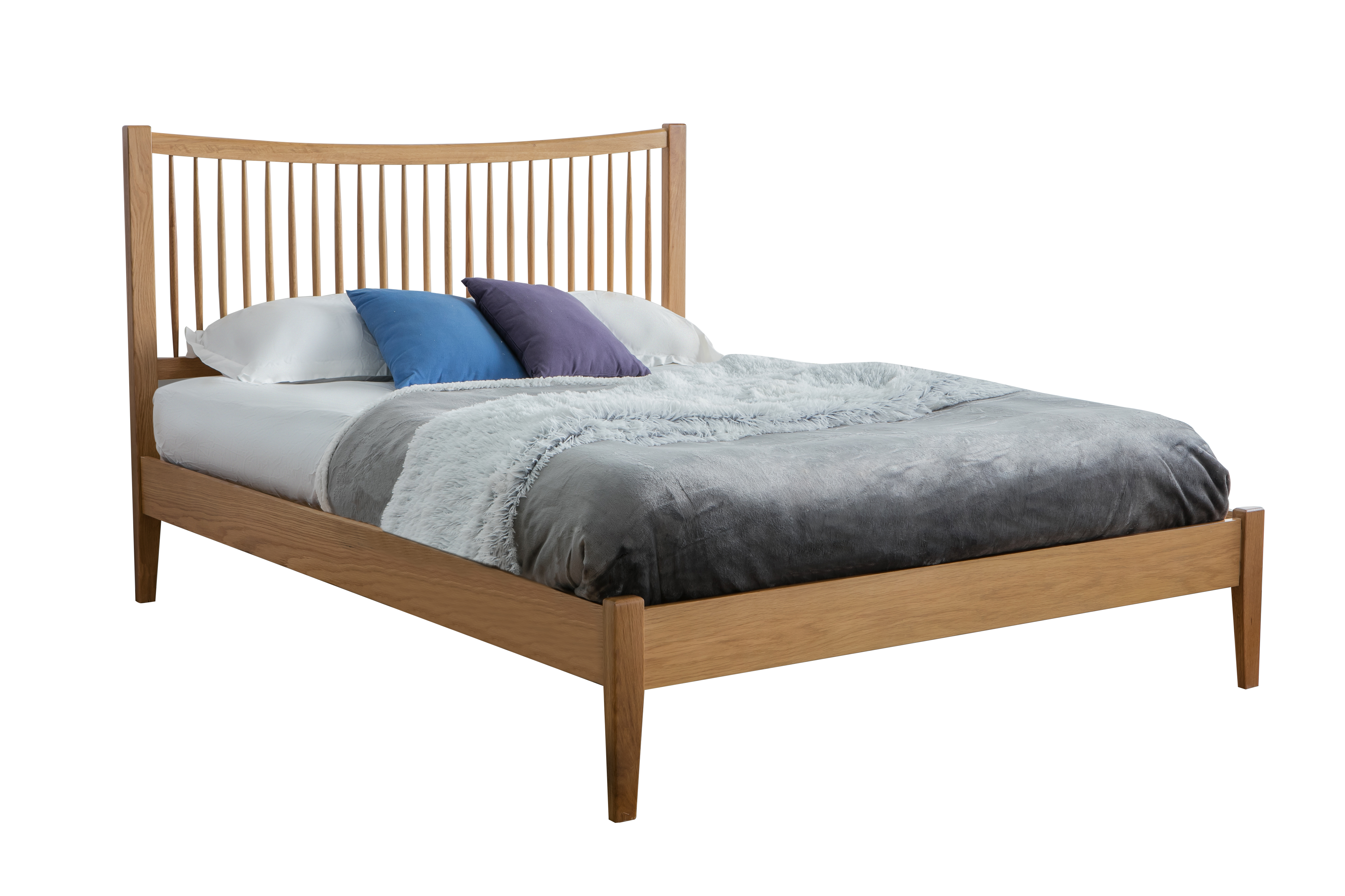 Berwick Solid Oak Wooden Bed Frame from £339