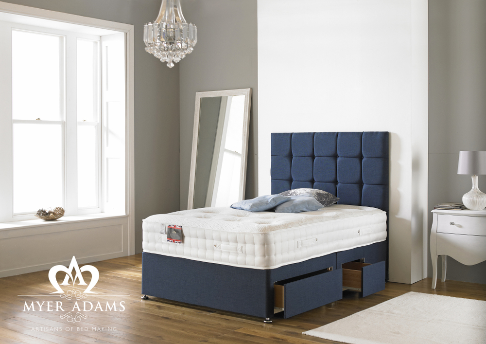 Myer Adams Backcare 2000 Memory Foam Pocket Divan Bed from £439