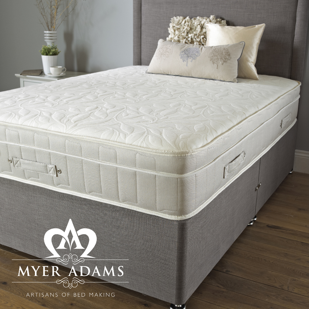 Myer Adams ROYAL COMFORT BACKCARE MEMORY 1500  Divan Set from £319