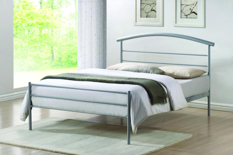 Brennington double metal frame and mattress deals from for Bed frame and mattress deals