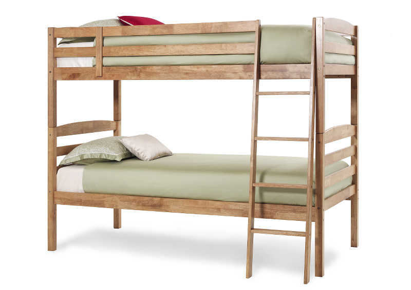 Serene Furnishings Brooke Bunk Bed in Honey Oak £289