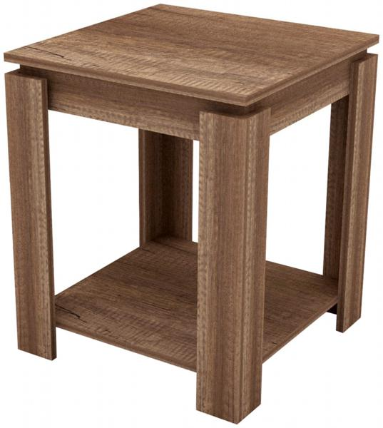 GFW CANYON Textured Oak Lamp Table