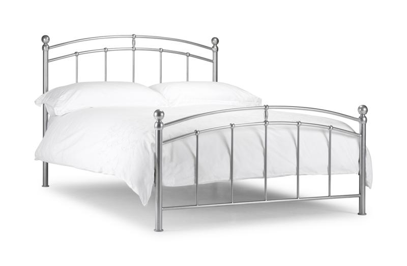 Chatsworth 4ft6 double Metal bed Frame £109, Beds Direct Warehouse ...