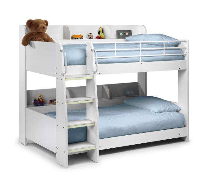 Julian Bowen Domino Bunk Bed In White £329