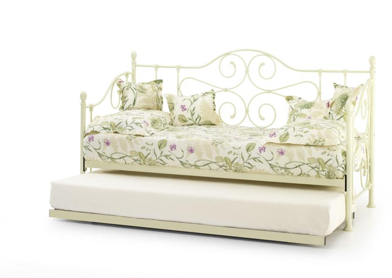 Serene Florence Ivory Day Bed with Trundle