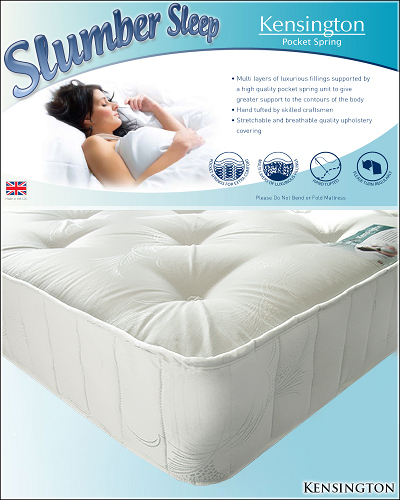Slumber Sleep Kensington Pocket Sprung Mattress from £149
