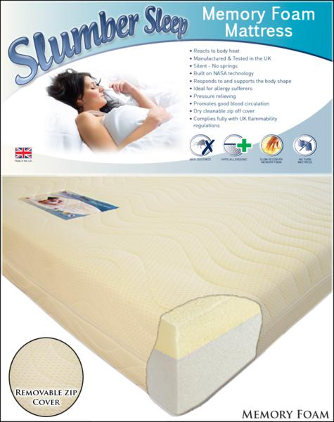 Slumber Sleep Extreme 50 Memory Foam Roll from £189