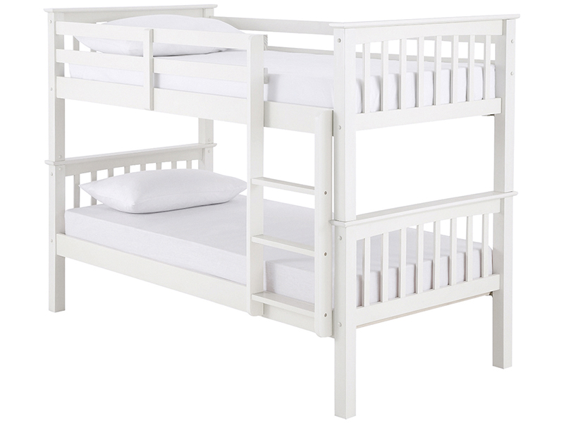 GFW Novaro White Bunk Beds