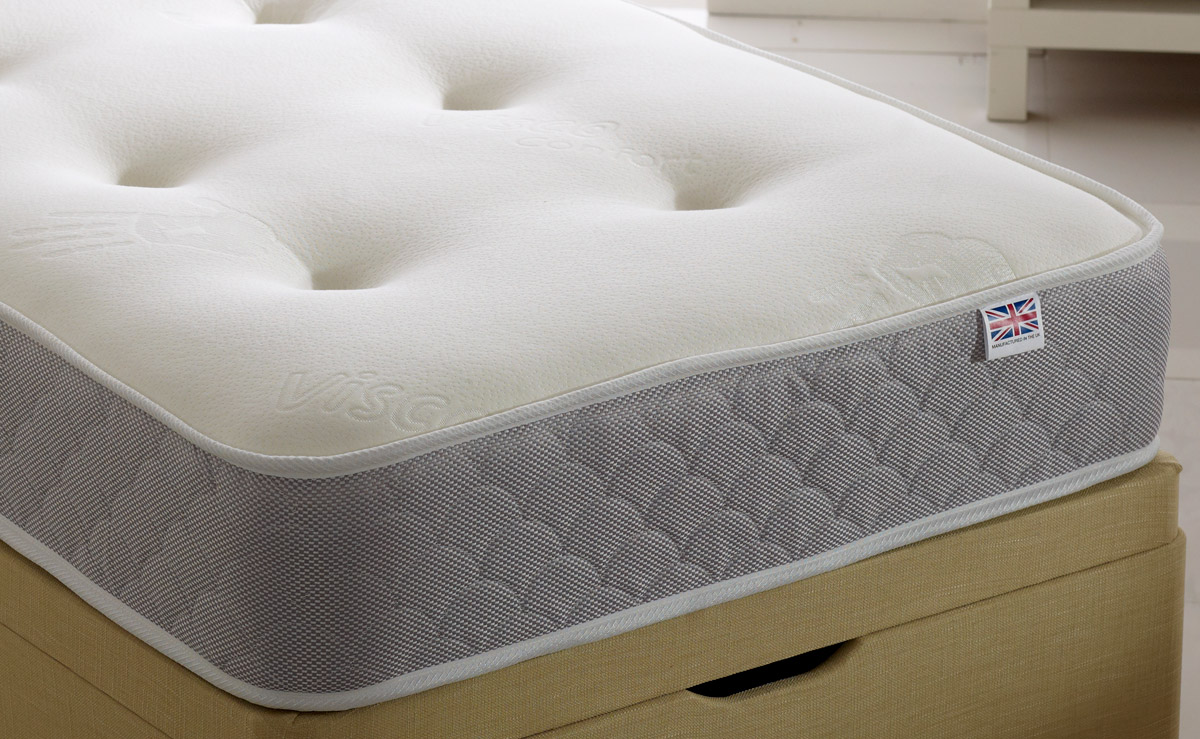 Orchid Roll And Rest Memory Foam Mattress From 109 Beds Direct Warehouse Gainsborough