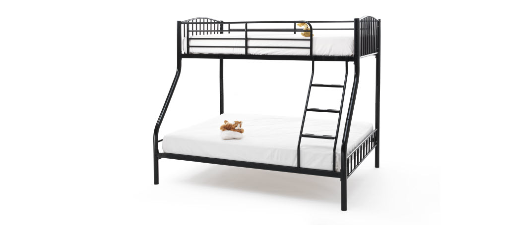 Serene Oslo Triple Sleeper in Black £229