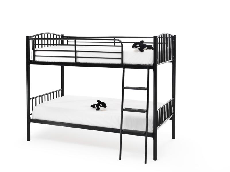 SERENE Oslo Twin Sleeper Bunk Bed in Black £199