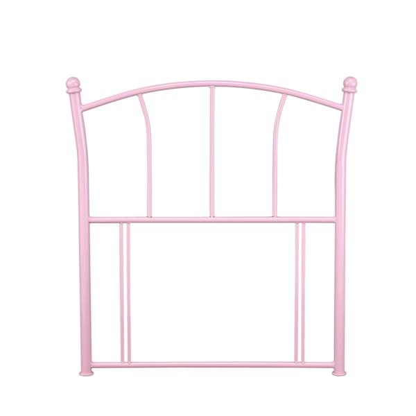 SERENE FURNISHINGS Penny Pink Metal Headboard
