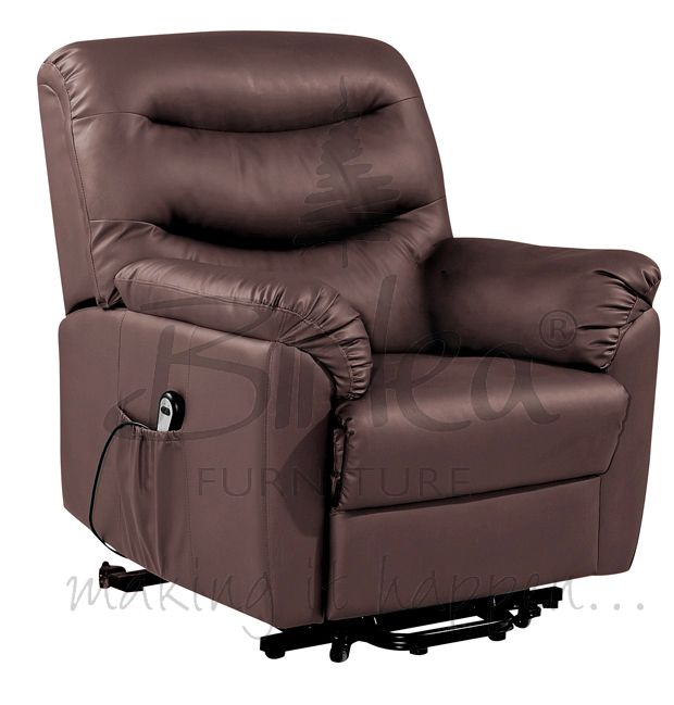 BIRLEA Regency Rise and Recline in Brown