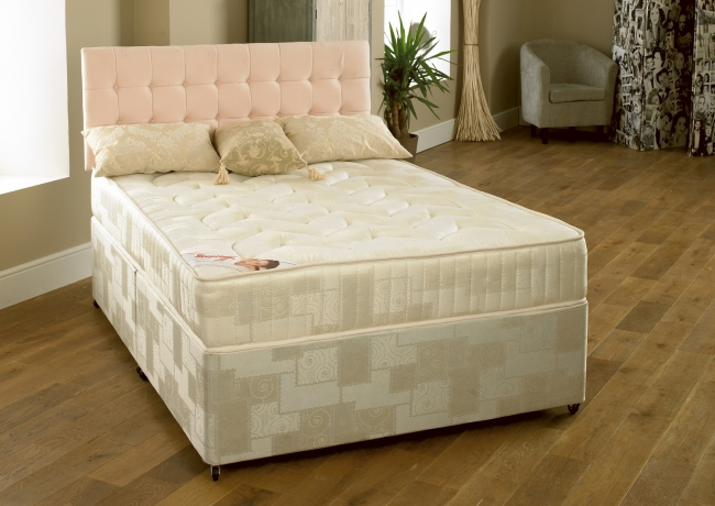 Myer Adams Richmond Deep Quit Damask Mattress from £89