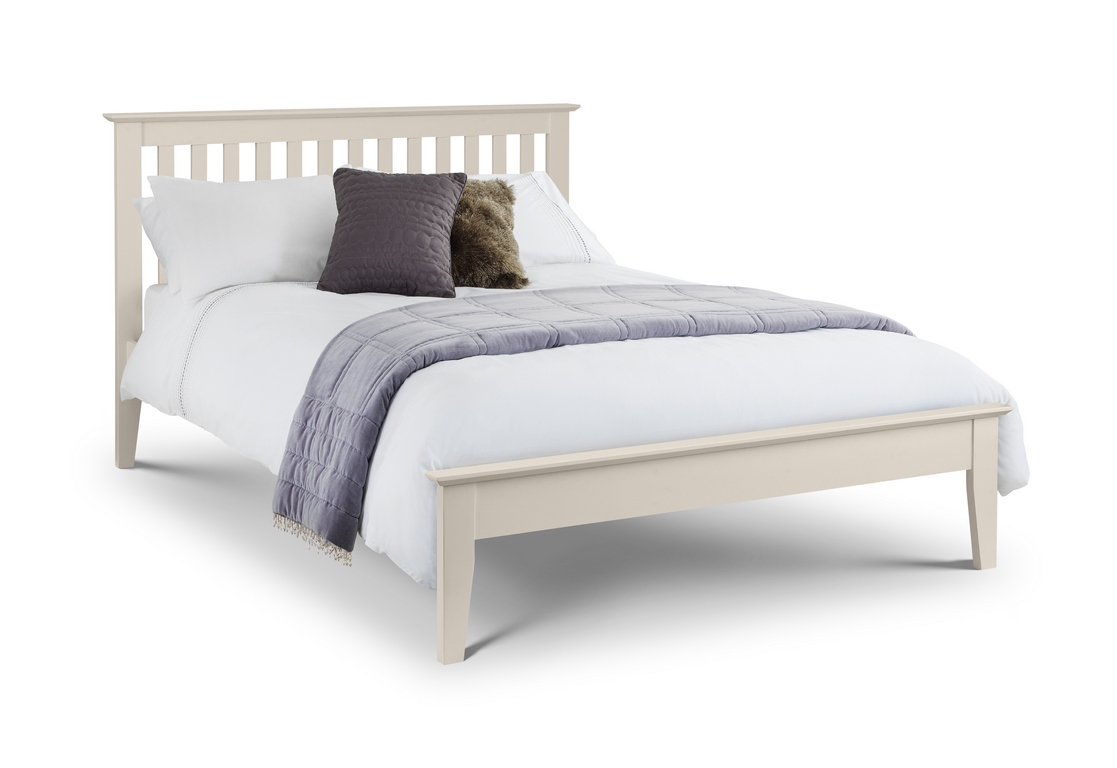 Julian Bowen Salerno Ivory Wooden Bed Frame £169