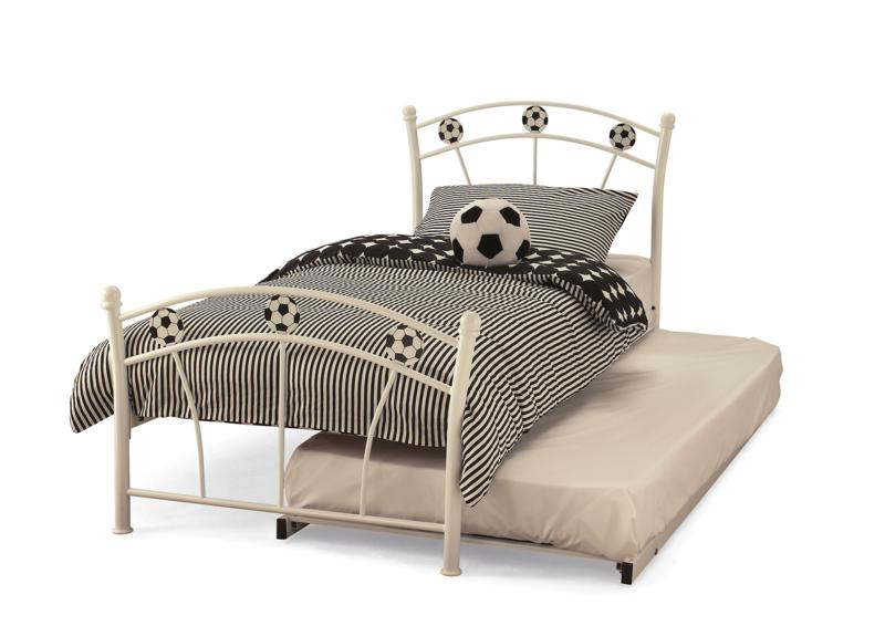 Serene Football Metal Frame Guest Bed £159