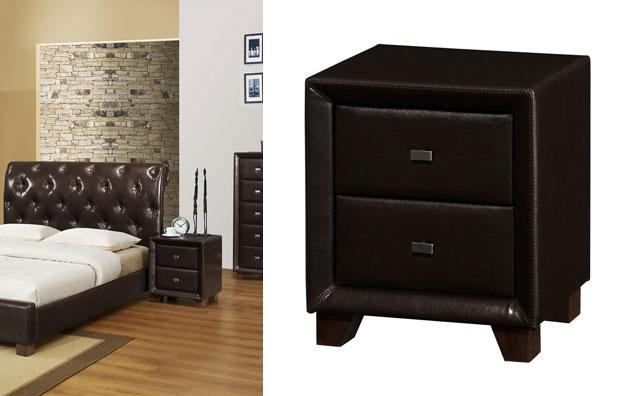 Brooklyn 2 Drawer Nightstand