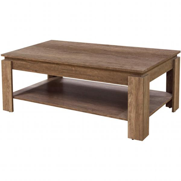 GFW CANYON Textured Oak Coffee Table
