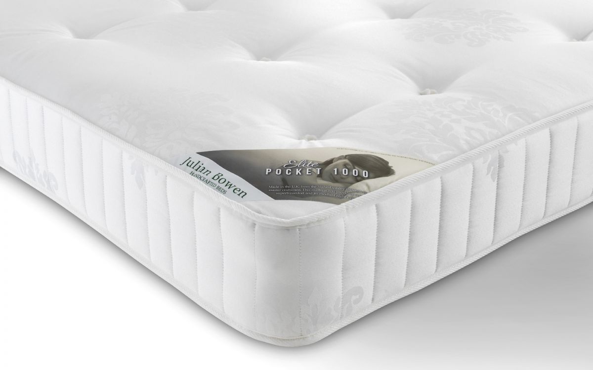 Elite 1000 Pocket Sprung Mattress JULIAN BOWEN from £189