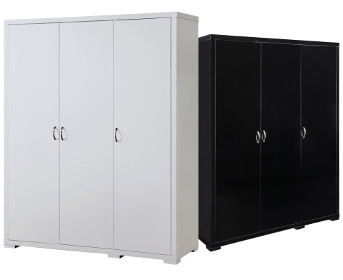 Luna - 3 Door Wardrobe