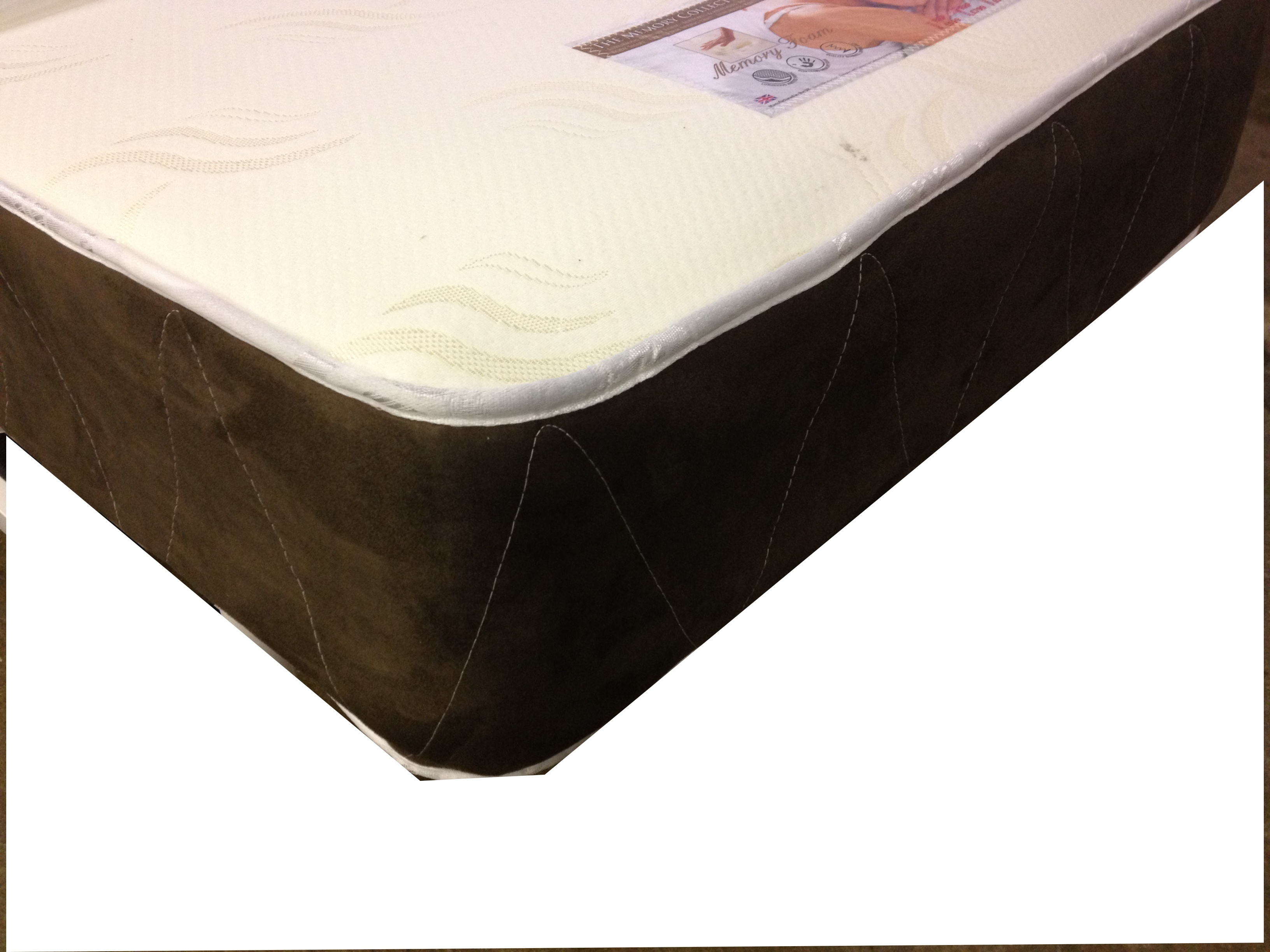 SLEEPTIMES 4ft6 Double Memory Collection Non Turn Memory Foam Mattress £159