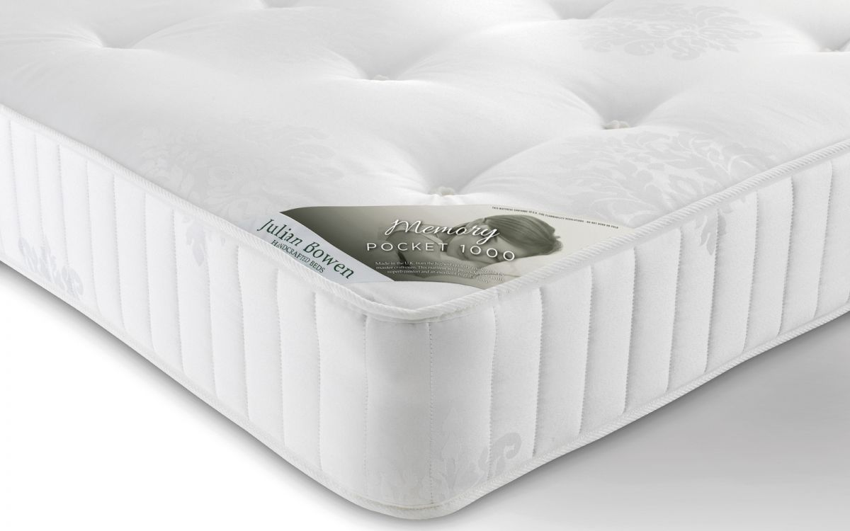 Memory Pocket 1000 Mattress JULIAN BOWEN from £299