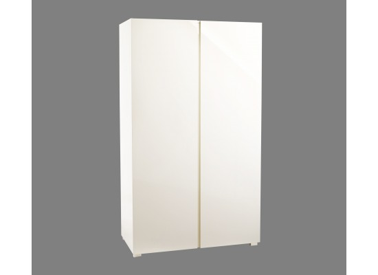 LPD PURO CREAM HIGH GLOSS 2 DRAWER WARDROBE
