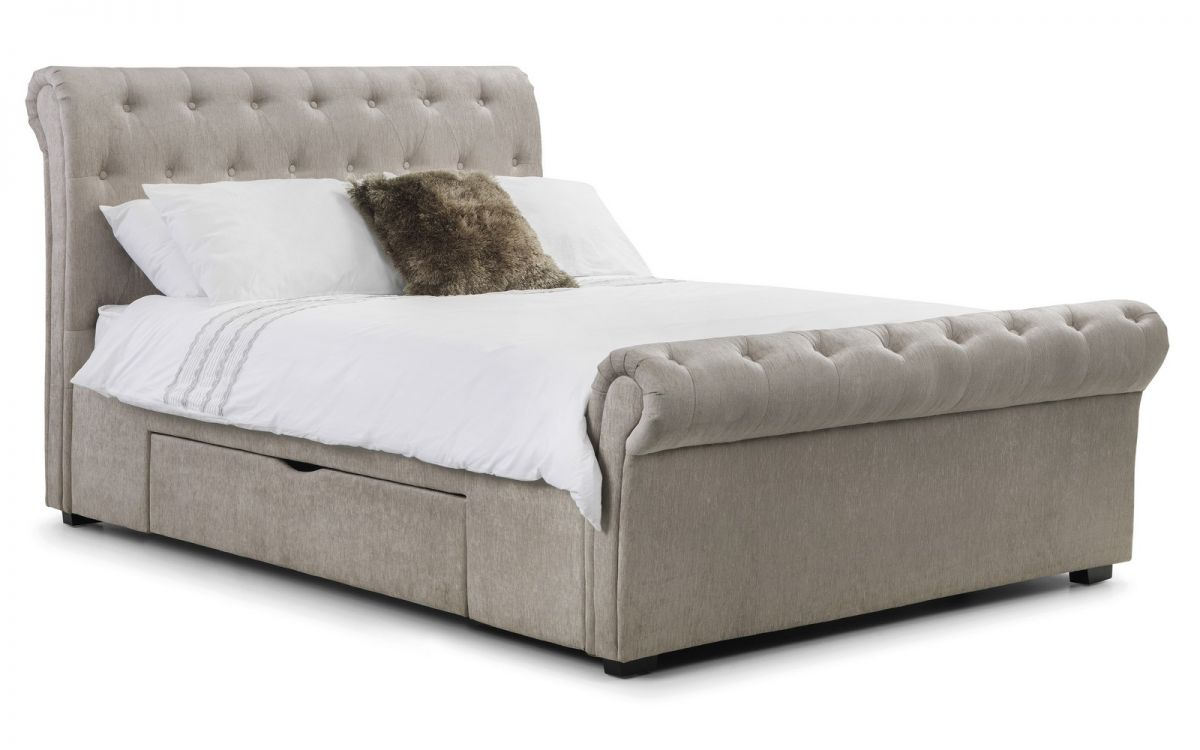 Julian Bowen Ravello Storage Fabric Storage Bed £379