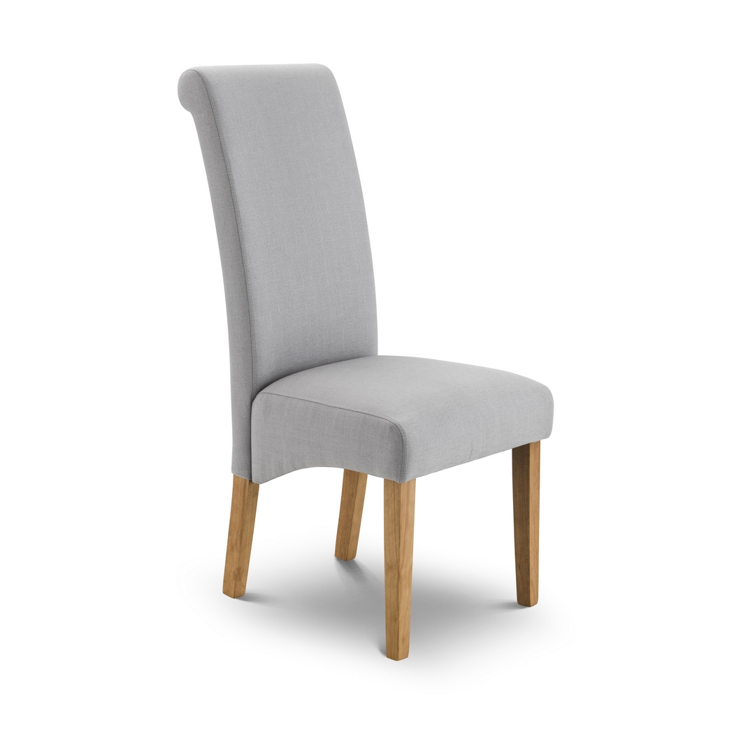 Julian Bowen Rio Dining Chair in Shale Grey
