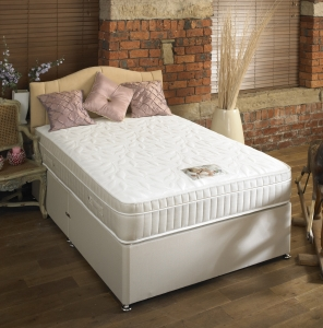 SLEEPTIMES Royal Comfort 1500 pocket Memory Foam Pillow Top Divan Set from £299