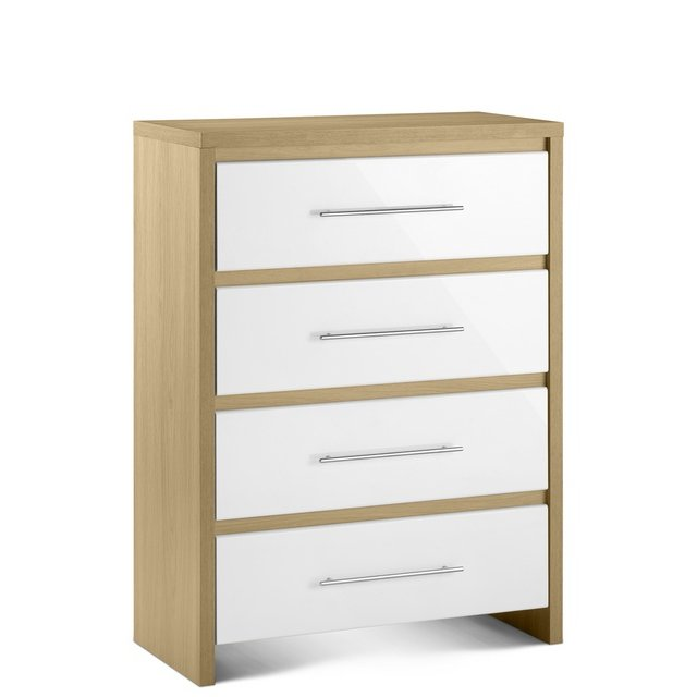 Julian Bowen Stockholm 4 Drawer Chest £139