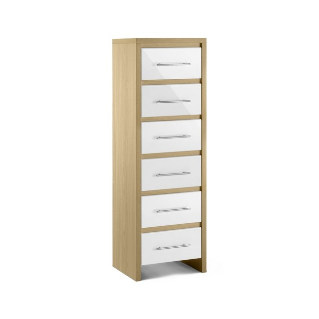Julian Bowen Stockholm 6 Drawer Narrow £139