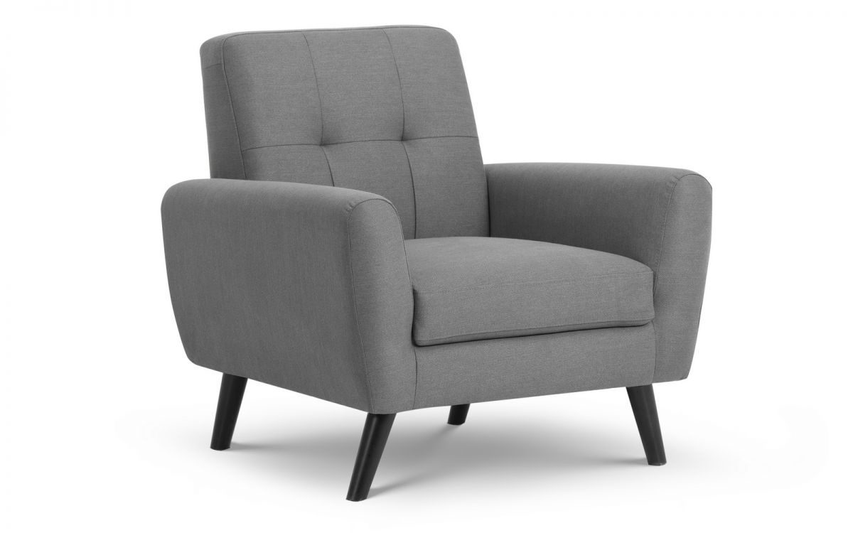 Julian Bowen Monza Chair in Grey £229