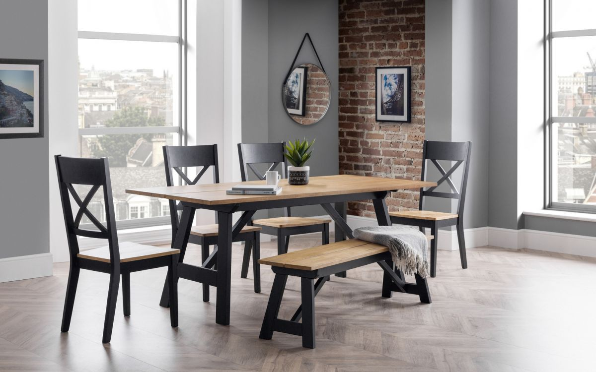 Julian Bowen Hockley Dining Set from £599