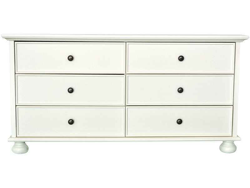 VERSAILLES 3 + 3 Drawer Chest