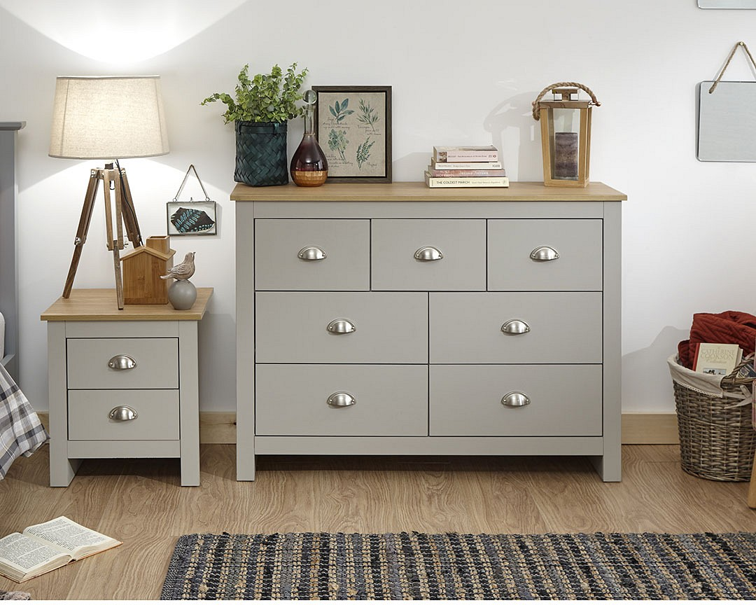 Lancaster Merchants Chest in Grey £135