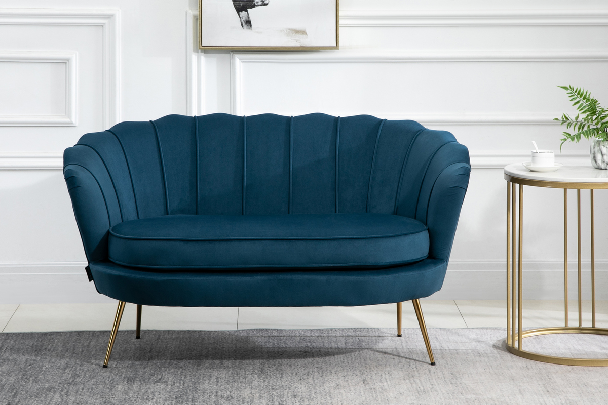 Ariel 2 Seater Sofa in Blue £299