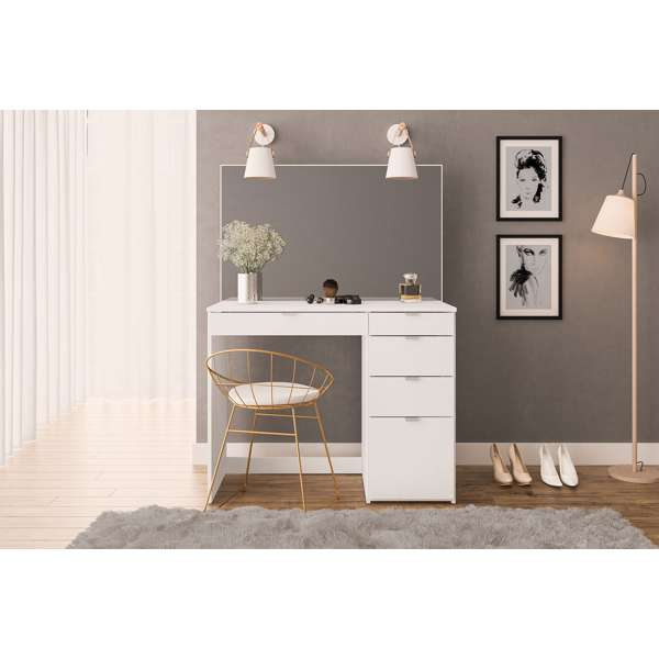 Ava Dressing Table in white £159