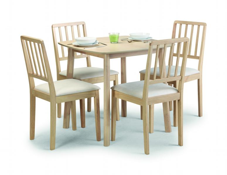Ascot Table And Chairs Dining Set 163 249 Beds Direct