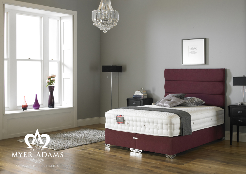 Myer Adams Backcare 3000 Pocket Memory Divan Bed Set from £549