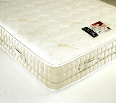 SLEEPTIMES 4ft 6 Double Backcare 2000 Memory Foam Pocket Mattress £399
