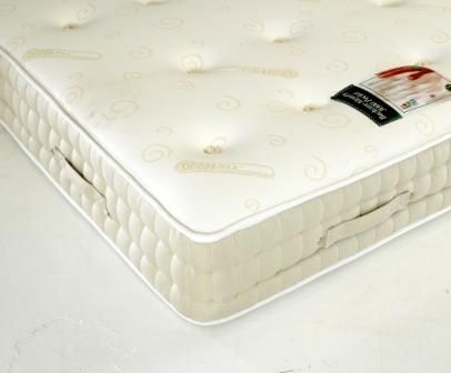 SLEEPTIMES 4ft6 Double Backcare 3000 Memory Foam Pocket Mattress £459