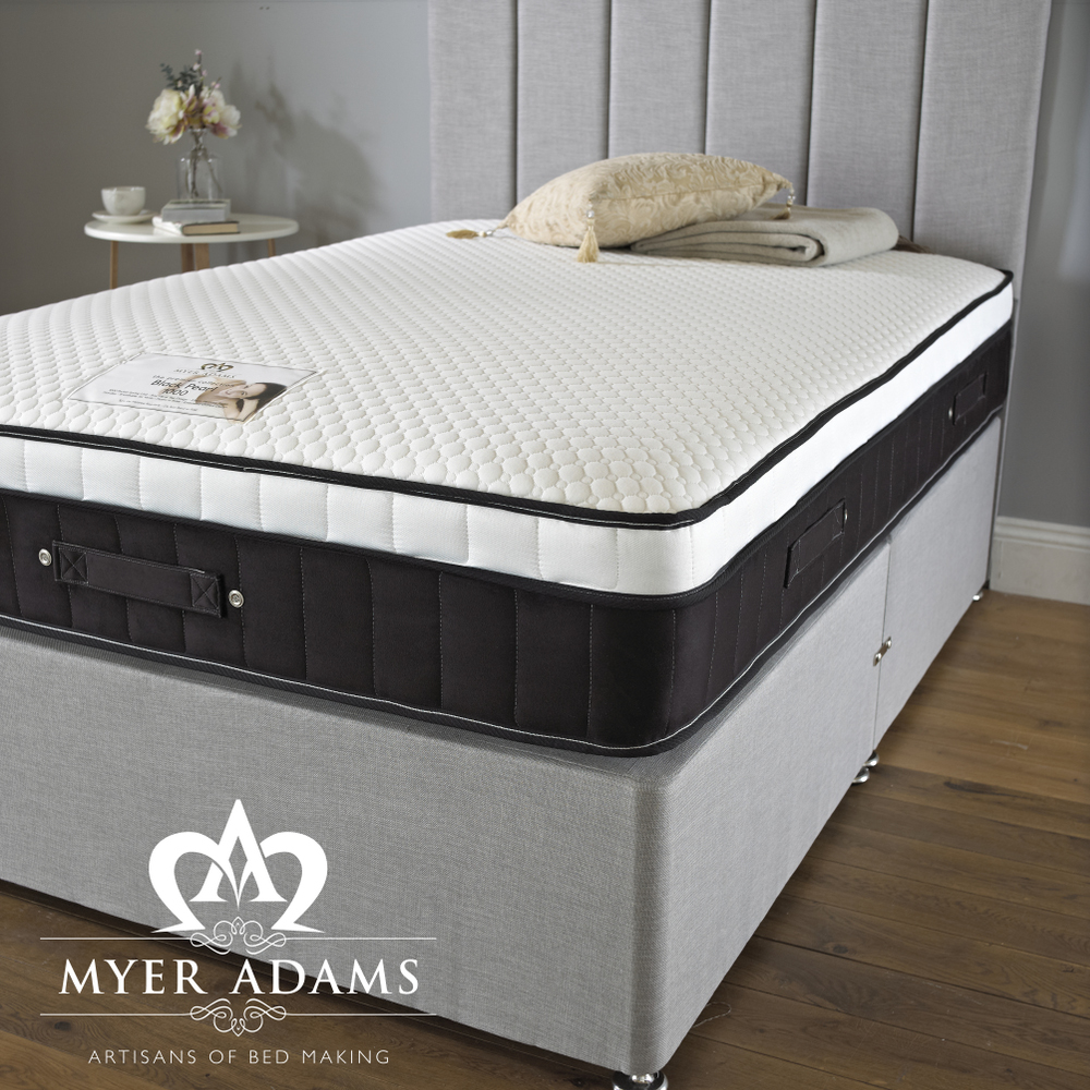 Myer Adams Black Pearl 1000 Pocket Memory Foam Mattress from £199