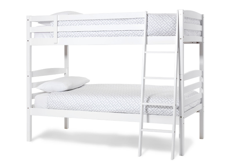 Serene Furnishings Brooke Bunk Beds in Opal White £299