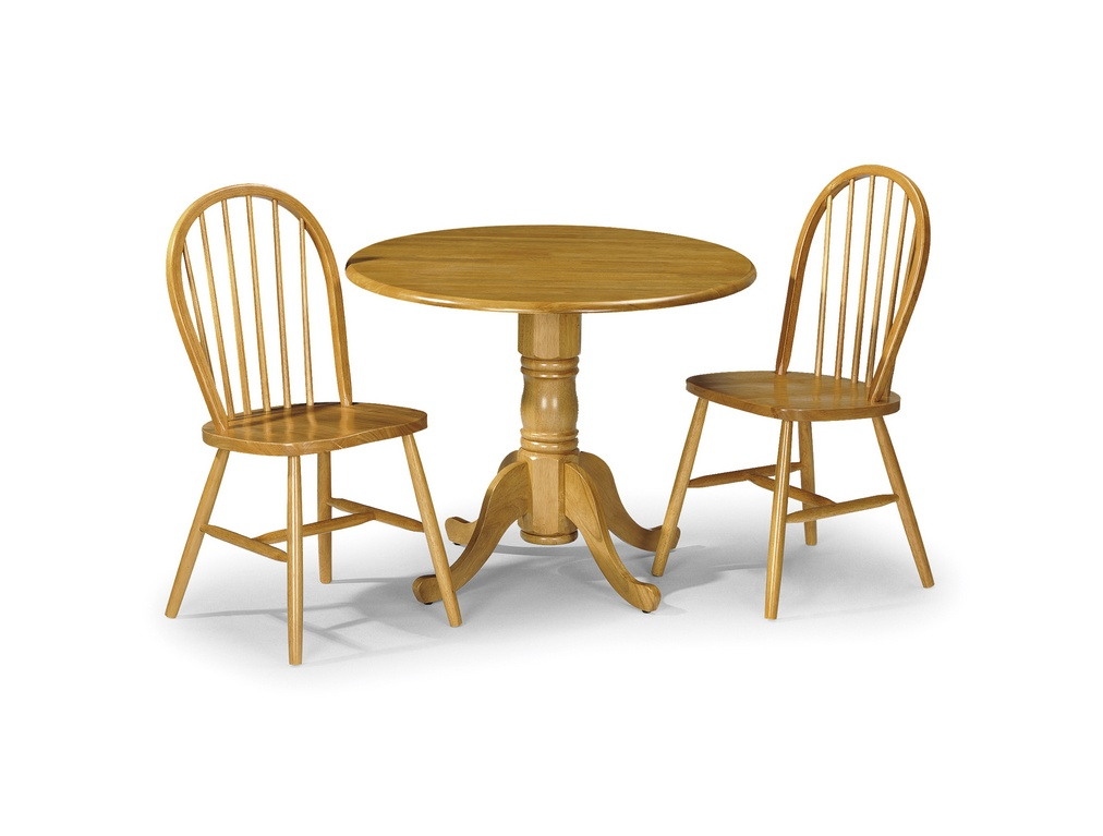 Julian Bowen Dundee Table and 2 Chairs Dining Set £209