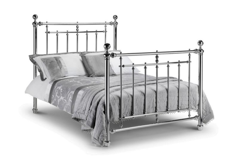 JULIAN BOWEN Empress Chrome Metal Bed Frame £339