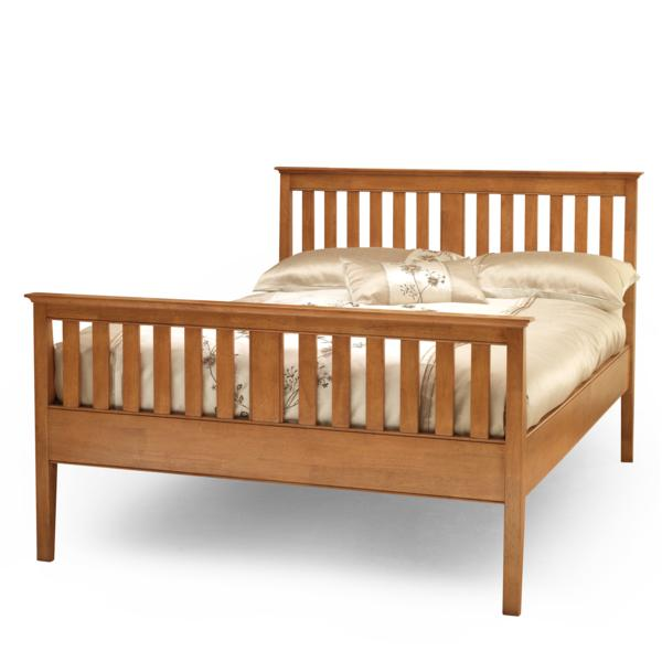 Rubberwood Bed Frames, Beds Direct Warehouse, Gainsborough, Lincolnshire