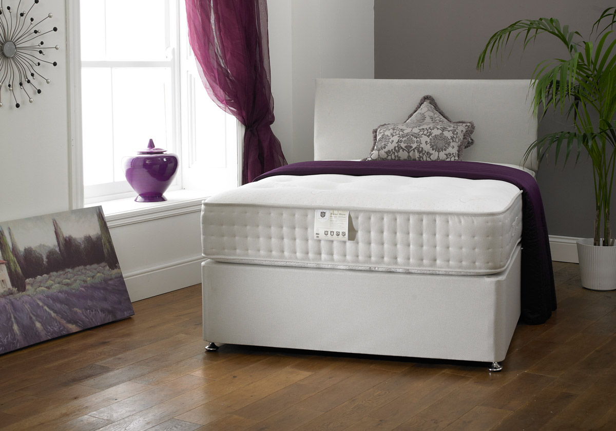 Shire Harrogate 1000 Pocket Divan Bed Set from £329